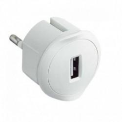 ADAPTADOR CARGADOR USB LEGRAND 050680 - BLANCO