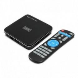 ANDROID TV BOX 3GO APLAY4 - 4K - QC CORTEX A53 - 16GB - 2GB RAM - HDMI - LAN - WIFI - RANURA MICROSD - ANDROID 7.1 - MANDO A DIS